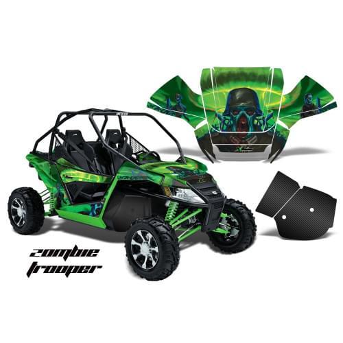 Комплект графики AMR Racing Zombie Trooper (Wildcat)