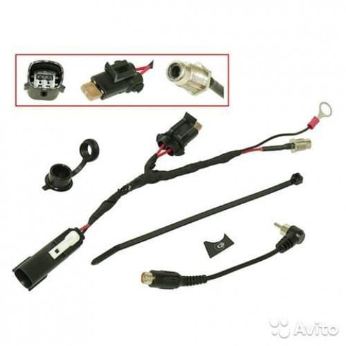 Комплект электрообогрева визора для платформы BRP REX / REX² / XU 860201234